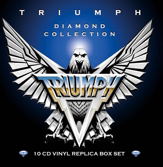 TRIUMPH - Diamond Collection [Ltd. Edition 10-CD Box Set remastered] full