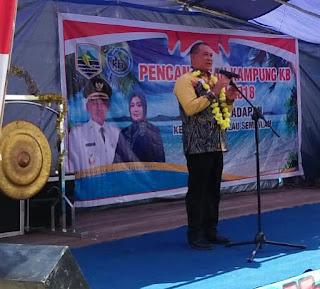 2 Tahun Berjalan Pemkab Kotabaru Sudah Punya 43 Kampung KB