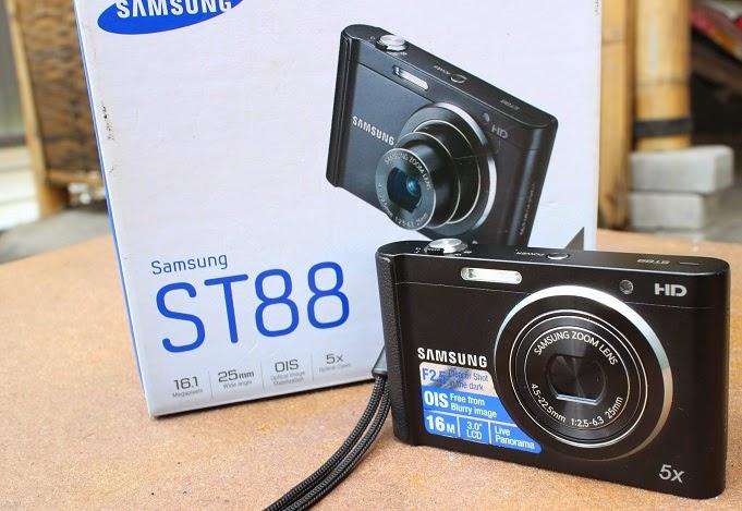 jual kamera digital bekas samsung st88