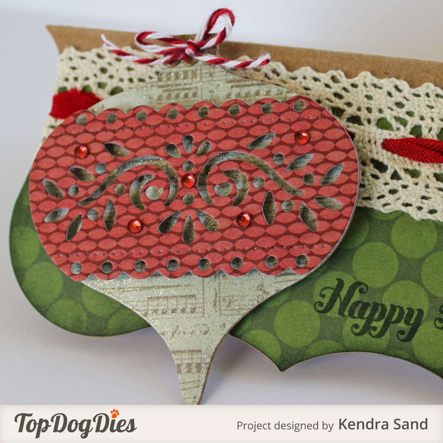 Luv 2 Scrap N' Make Cards: Treat Bag Topper With TDD
