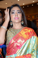 Shriya Saran Looks Stunning in Silk Saree at VRK Silk Showroom Launch Secundrabad ~  Exclusive 166.JPG