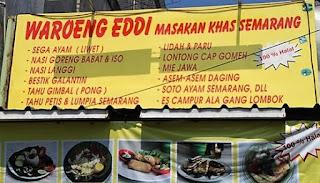 Tempat wisata Kuliner Semarang