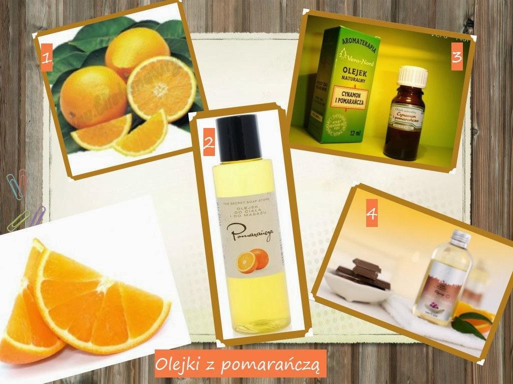 Pomarańczowe kosmetyki :)