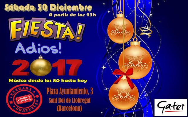 Flyer Fiesta Adiós 2017