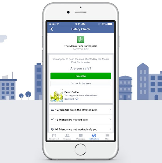 How Facebook Safety Check helps in an Emergency