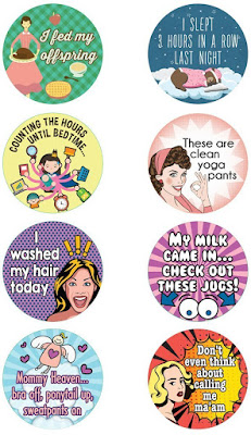 Adulting Stickers (for moms)