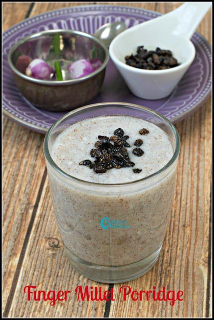 Ragi Koozh (Finger Millet Flour)