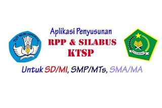 Aplikasi Penyusunan RPP & Silabus Kurikulum KTSP
