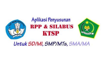 Aplikasi Penyusunan RPP dan Silabus Kurikulum KTSP