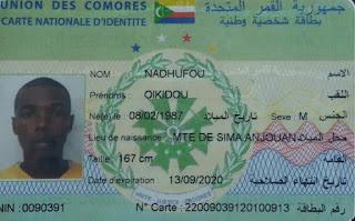 Alerte : Disparition d'un jeune commerçant de Sima Anjouan à Ngazidja