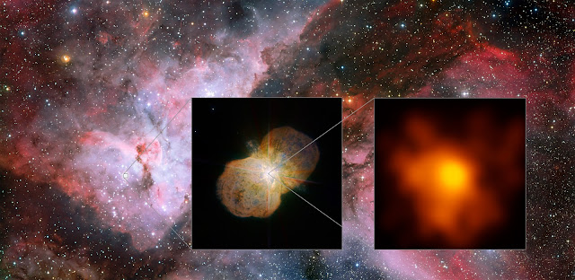 Highest Resolution Image of Eta Carinae