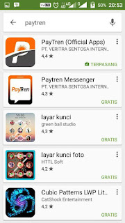 Search Paytren di Playstore
