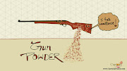 Gunpowder of gun