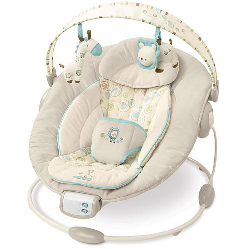 Baby Swing Vibrating Chair Combo Retro Leather And Footstool Meghamom Must Have Items For Moms Or Shower Registries Are Sometimes Babies Want To Bounce They Listen Tunes While Their Gives Them A Massage