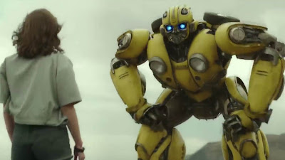 Transformers & Hailee Steinfeld  HD Images In Bumblebee
