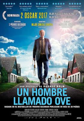 Cartel oficial español: Un hombre llamado Ove (2015)