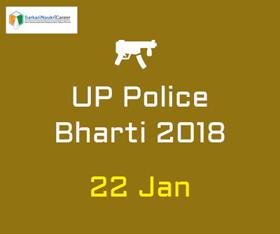 UP Police Job Notification Release