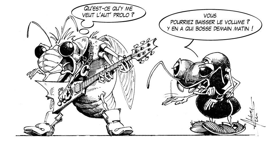 Philippe Abbet La Cigale Et La Fourmi