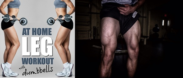 The Best Home Leg Workout in Under 20 Minutes