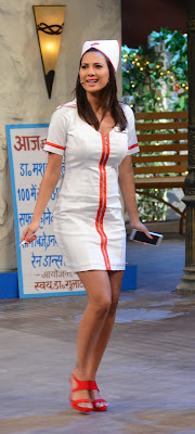Rochelle Rao as Sexy Nurse in The Kapil Sharma Show