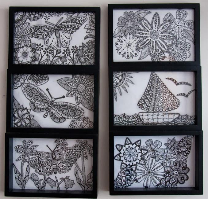 Doodle Art Designs Zentangle Inspired Art For My Bedroom Flowers