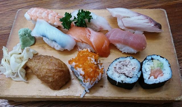 Kenji, sushi
