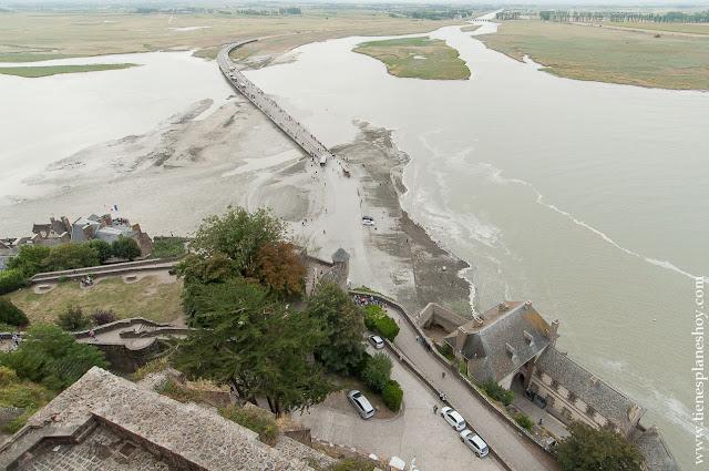 Visita Mont Saint-Michel mareas viaje Francia turismo