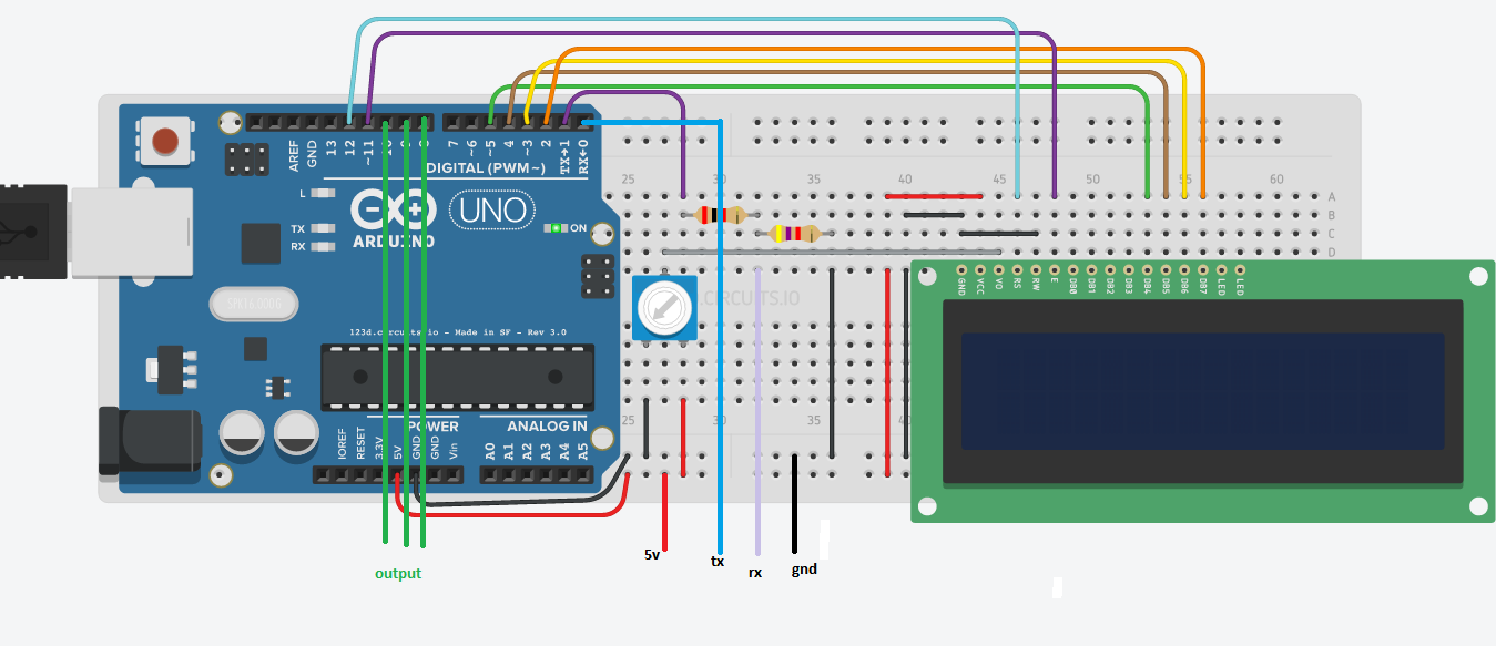 Bluetooth Interfacing with Arduino UNO and LCD