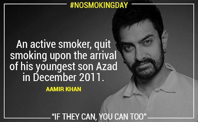 No Smoking Aamir Khan