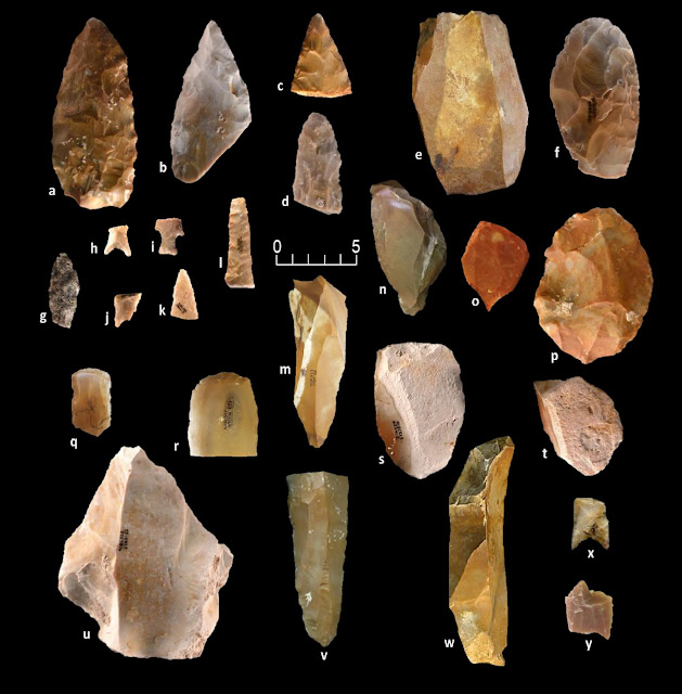 More on Distinctive projectile point technology sheds light on peopling of the Americas