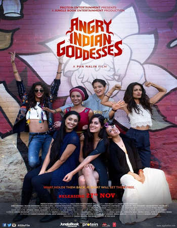 Angry Indian Goddesses 2015 Hindi Bluray Movie Download