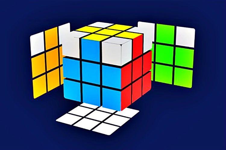 Bu noktada 3x3'lük küpün sarı çarpı izlerini izlemeniz gerekmektedir. Böylece ikinci renk, diğer köşe rengi ile birebir örtüşecektir.