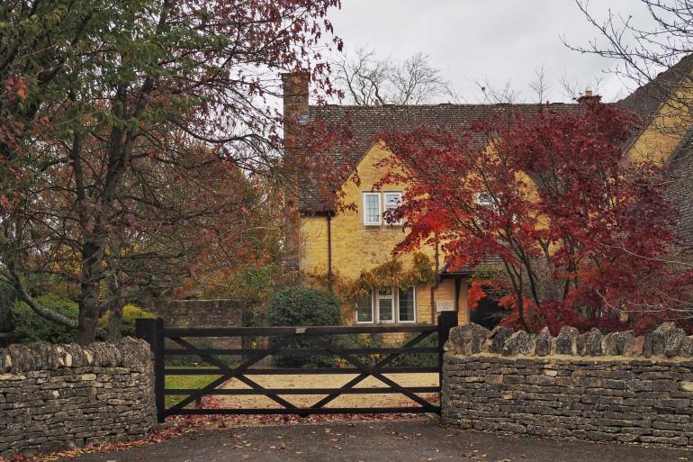 Lower Slaughter dans les Cotswolds en Angleterre