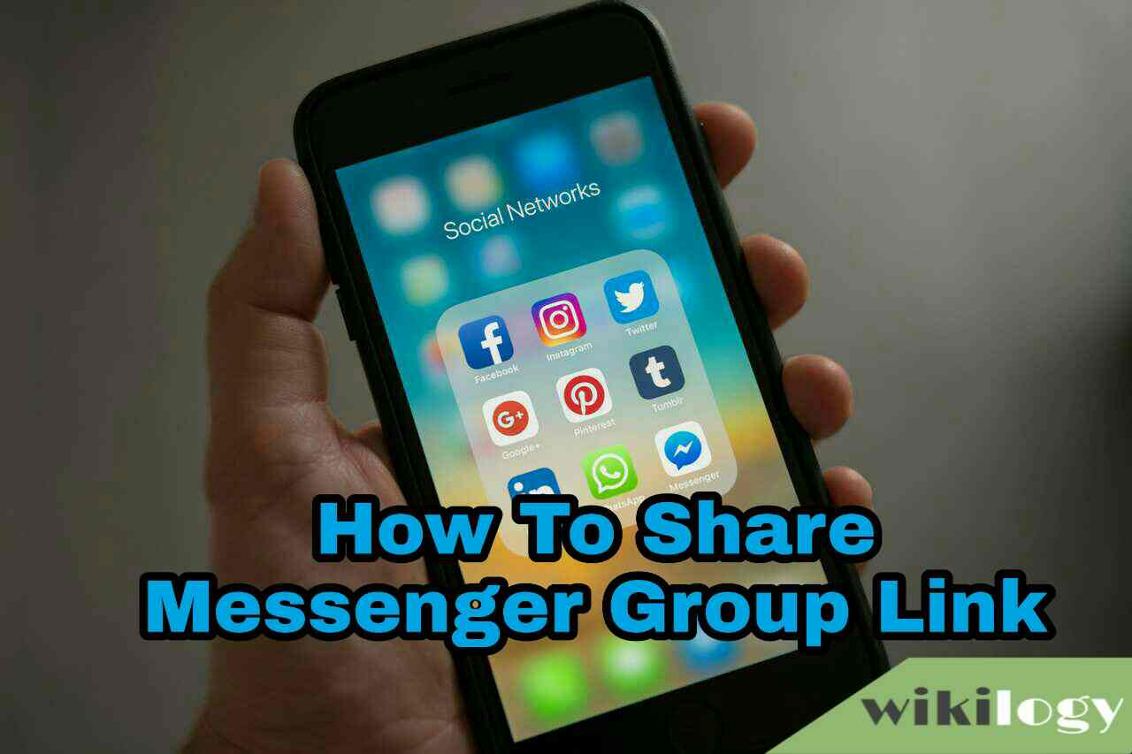 How to share get messenger group link