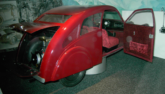 Porsche Type 12 - Reconstruction - Passenger side