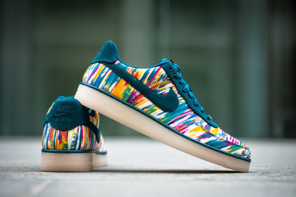promo code cc483 377e2 Nike and Liberty of London continue there collaborative efforts now with one  of the Big Brand from Beaverton s newer sillohuettes, the Air Force 1  Downtown.