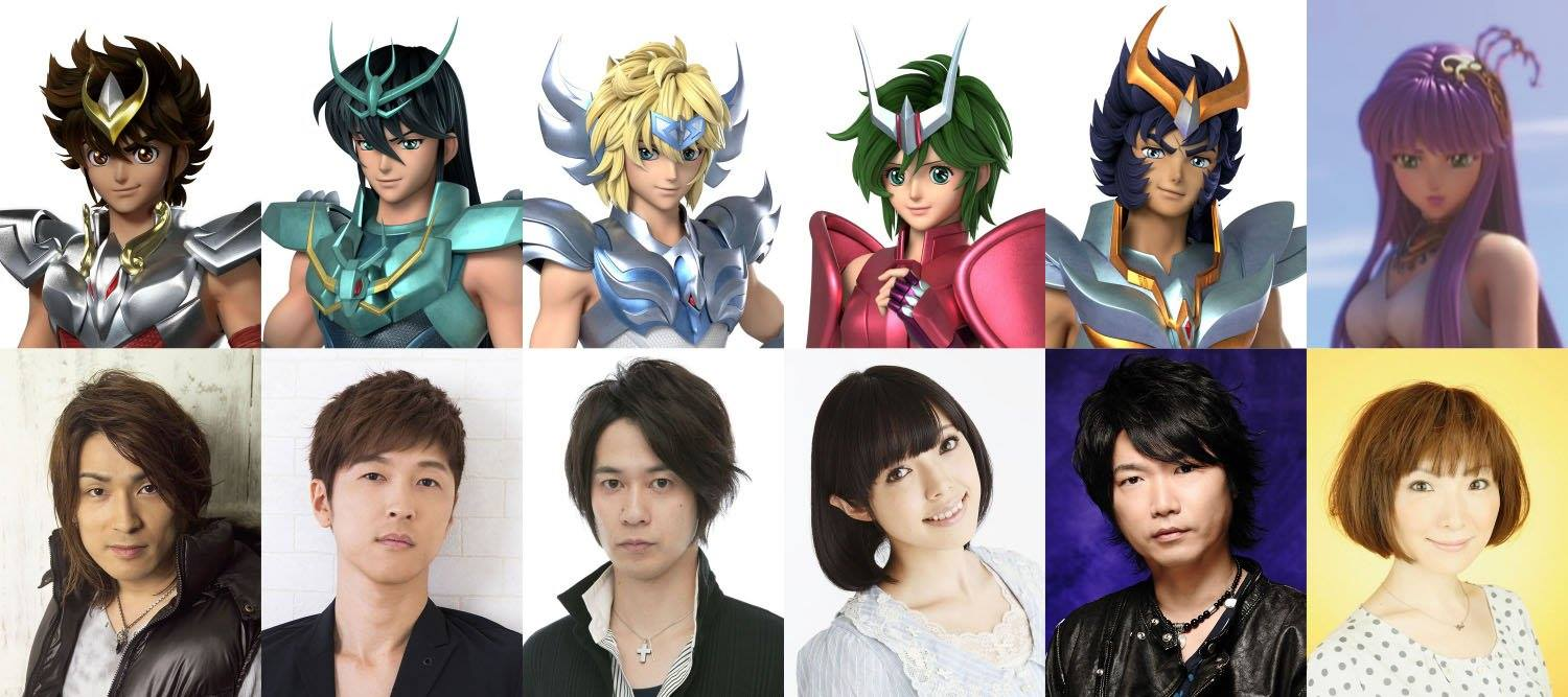 THE LOST CANVAS: Saint Seiya NETFLIX - Staff (Seiyuus)