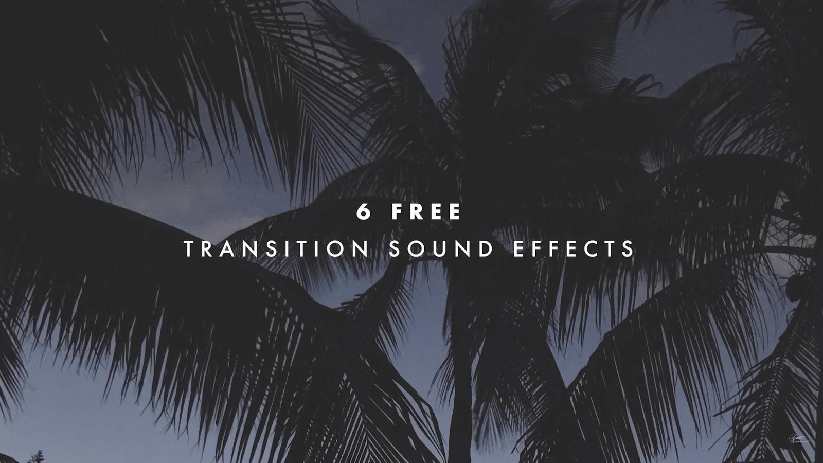 Transition sound effects pack Premiere Pro - ILMU GRATIS GAN