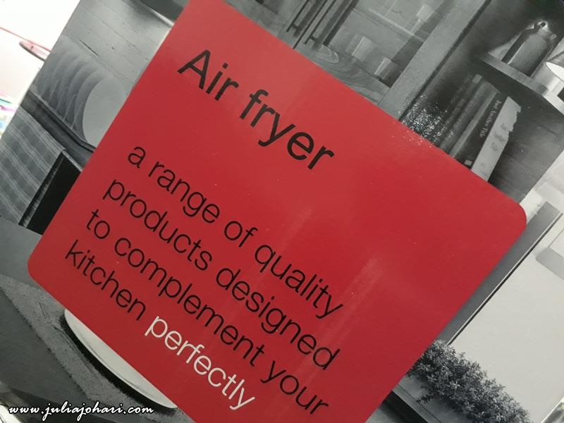Wishlist Air Fryer bertukar jadi hadiah !