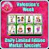 Farmville Valentines Week Daily Limited Edition Market Specials