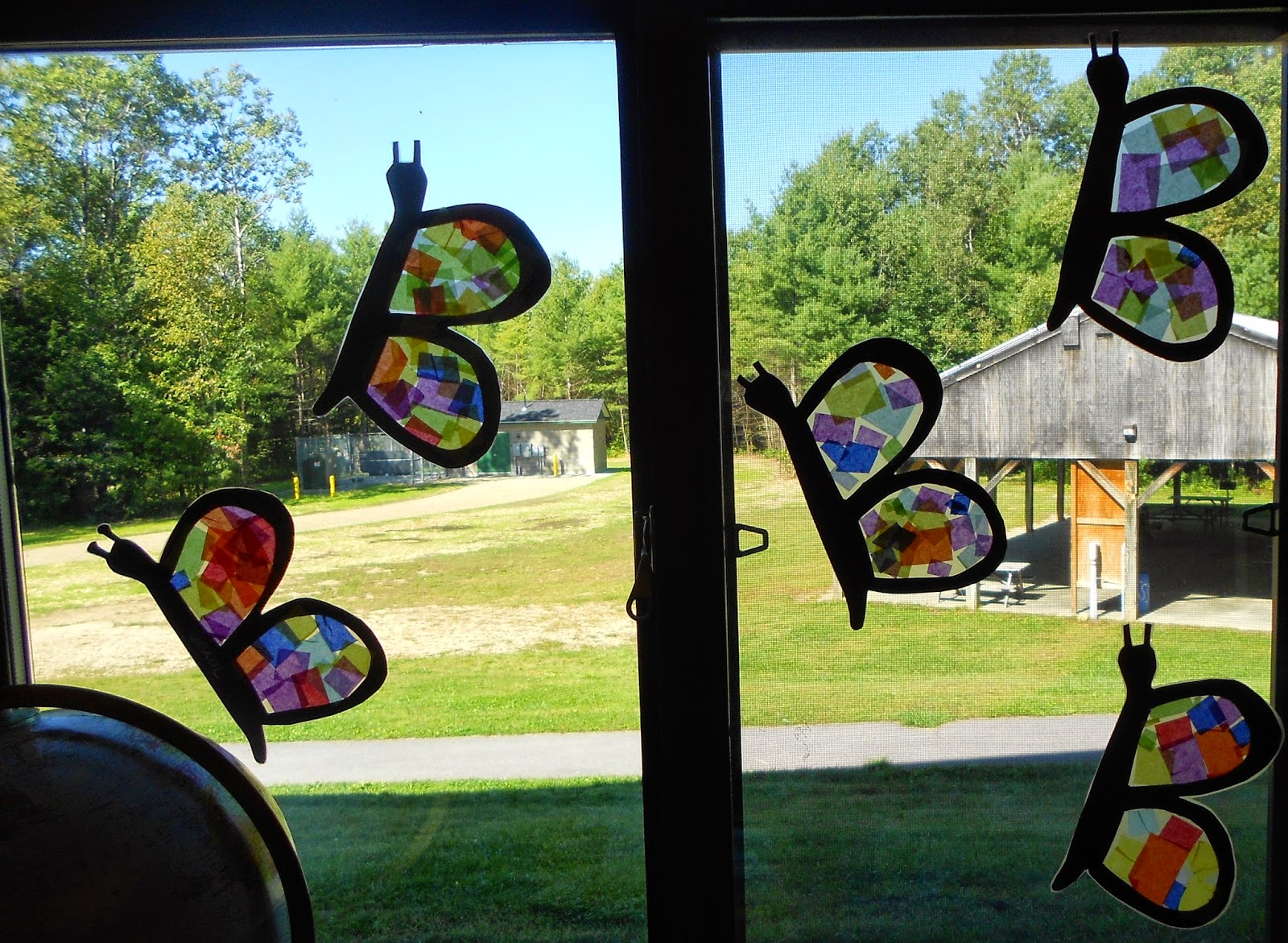 Love Of Laughter And Learning: Butterflies And The Letter B