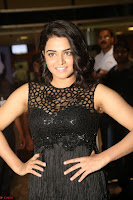 Wamiqa Gabbi in a sleeveless Black Designer Transparent Gown at 64th Jio Filmfare Awards South ~  Exclusive 117.JPG