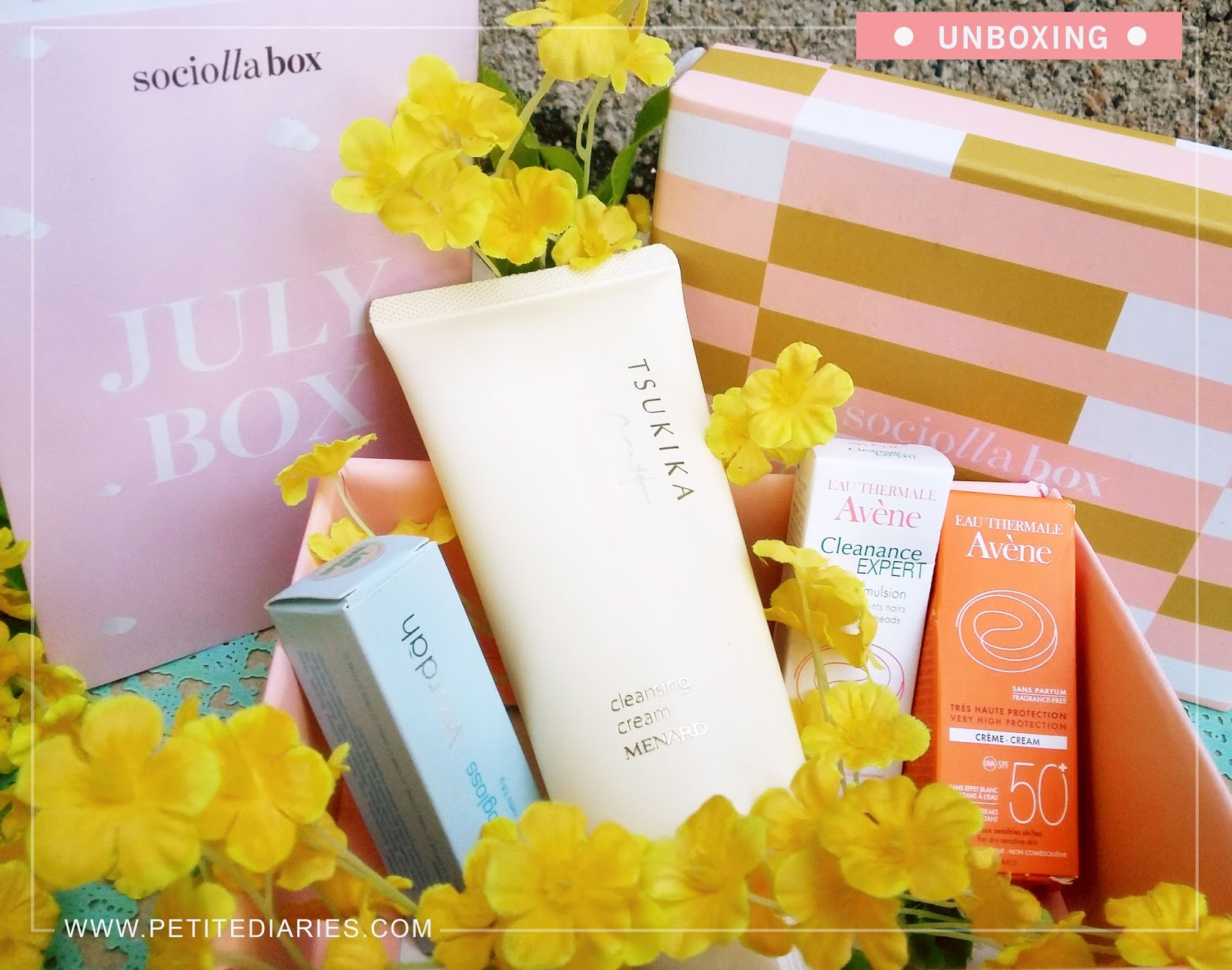 sociolla box unboxing beauty haul
