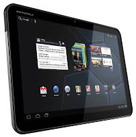 Tablet da Motorola Xoom Wi-Fi.