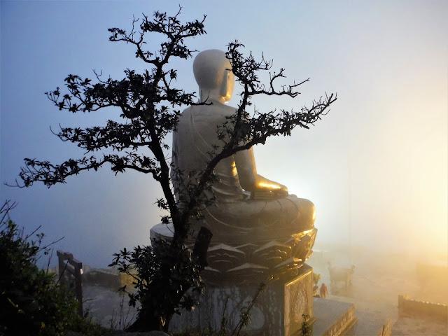 buddha statue yen tu vietnam