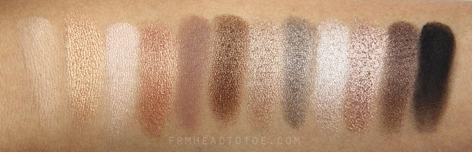 Naked2 Eyeshadow Palette by Urban Decay #9