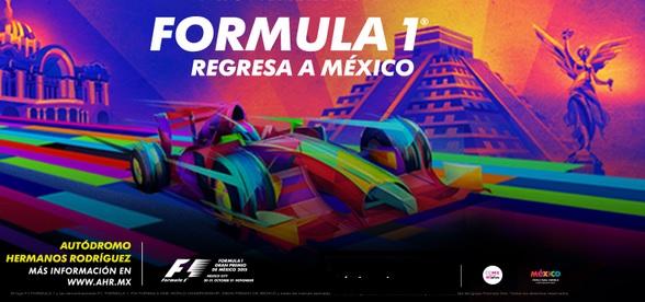 Formula 1 en Mexico Fechas y boletos