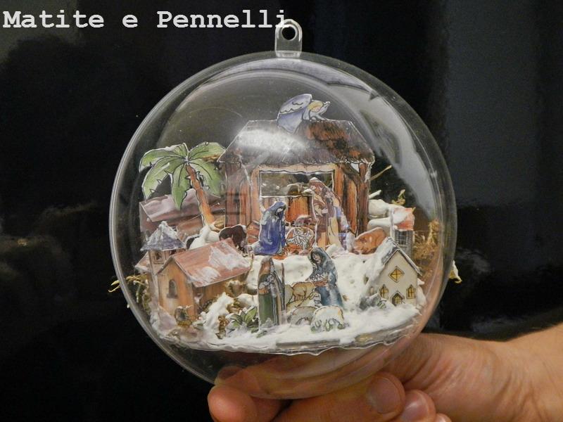 Matite e Pennelli Tutorial palline in plexiglass con decorazione 3D