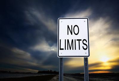 """""""No limits"""""""