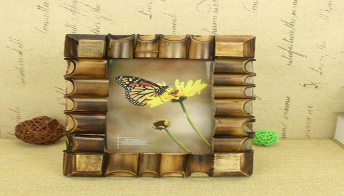 Cara Membuat Bingkai Dari Bambu